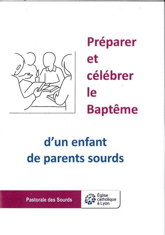 Préparer le baptême enfant sourd