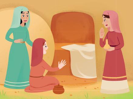 femmes au tombeau